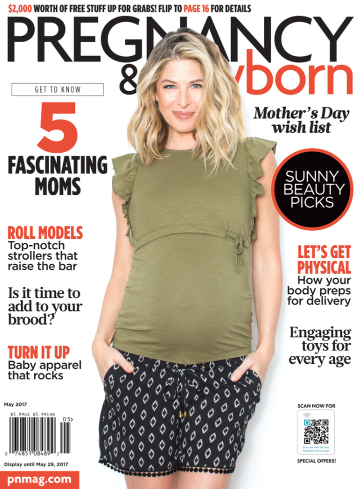 Pregnancy and Newborn May 2017 Cover