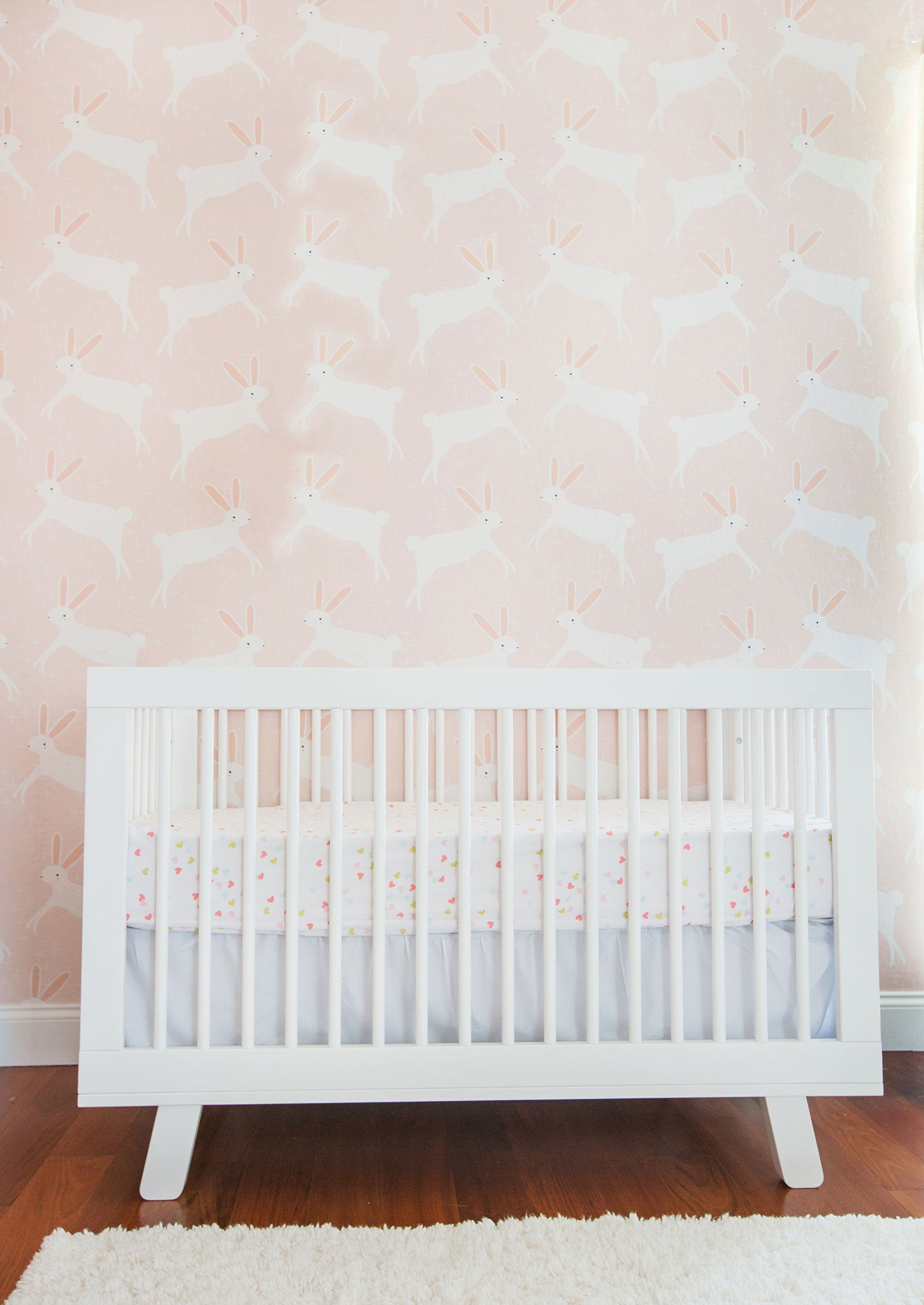 Rue Daily 6-16-16 babyletto Hudson Crib styled by Emily Henderson