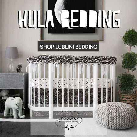 babyletto hula bedding by lublini