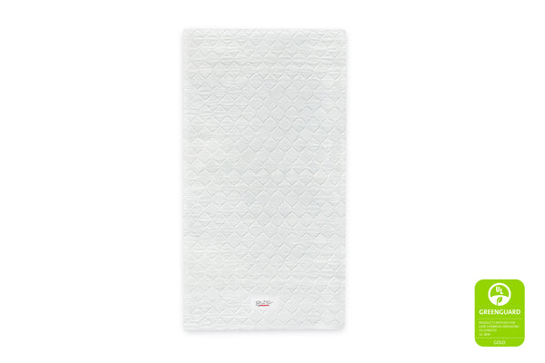 Babyletto Pure Core Non-Toxic Mini Crib Mattress with Hybrid Cover
