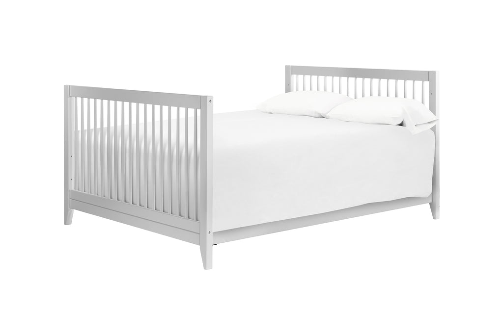 M5789TG,Hidden Hardware Full Size Bed Conversion Kit In Light Grey