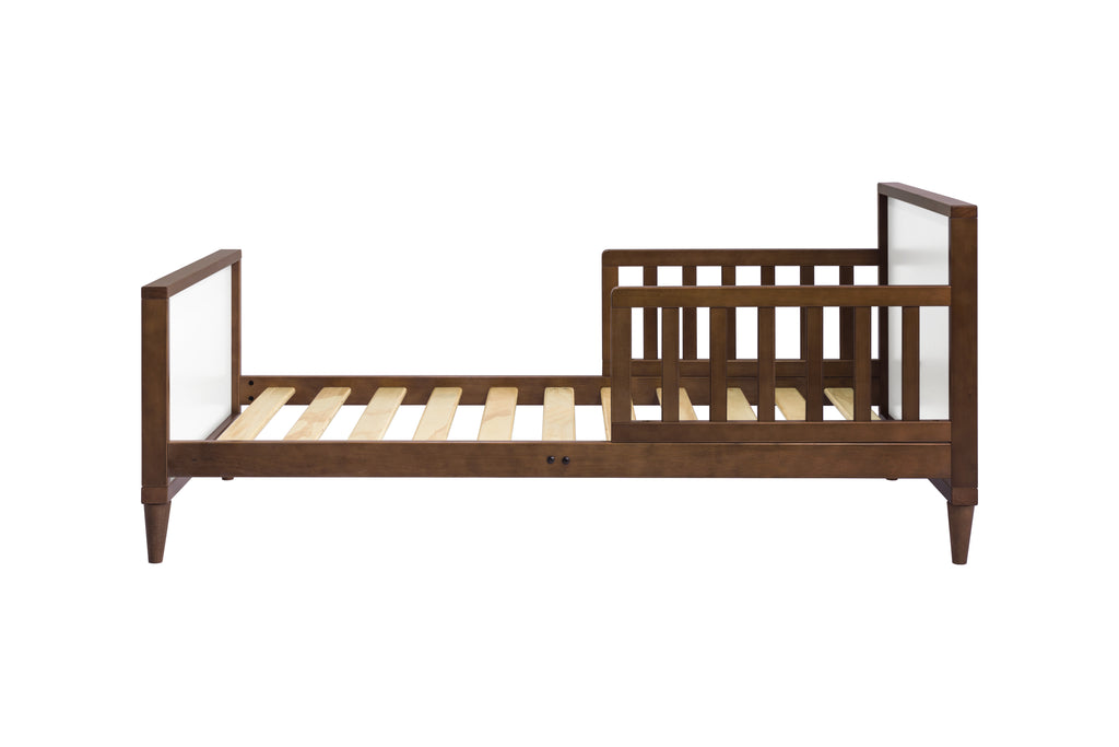 M16890WL,Ziggy Toddler Bed in Walnut / White