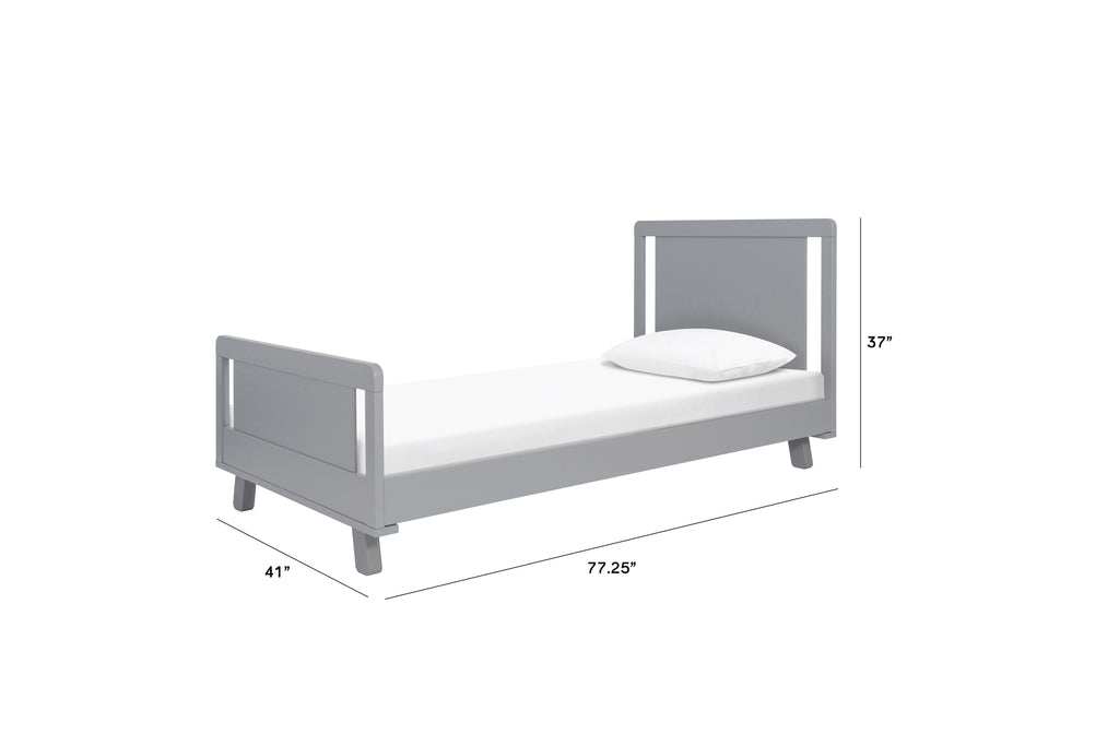 M4289G,Hudson Twin Bed in Grey