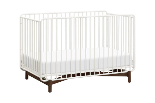 Bixby 3-in-1 Convertible Metal Crib with Toddler Bed Conversion Kit
