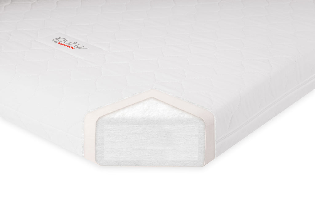 M5346C,Pure Core Non-Toxic Mini Crib Mattress with Hybrid Cover