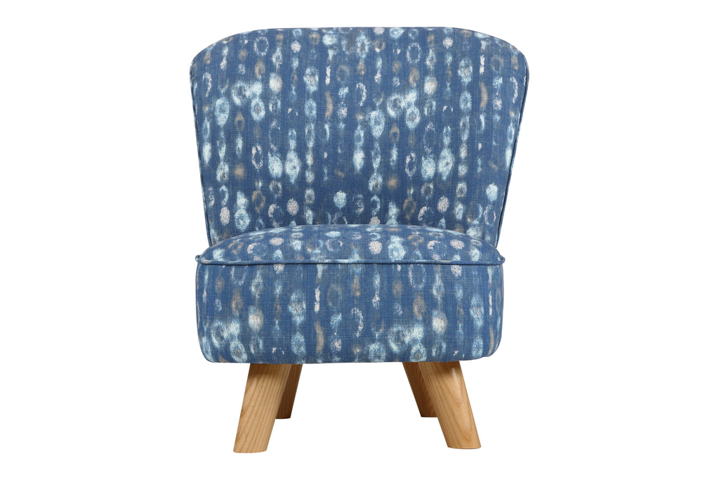 M0505CGO,Pop Mini Chair in Indigo Blue