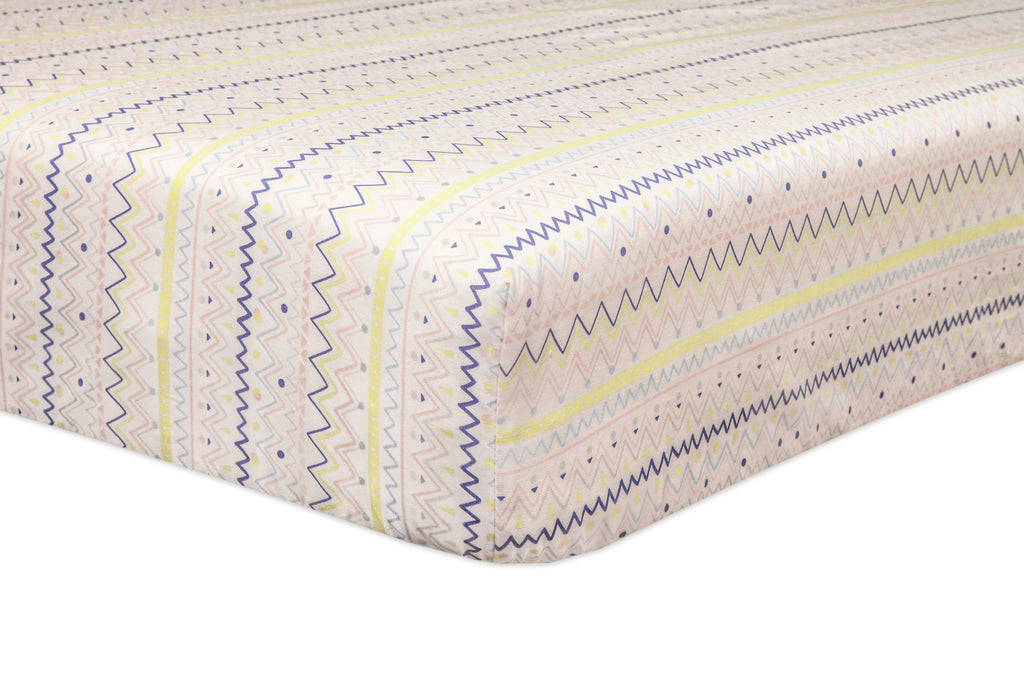 Desert Dreams Fitted Crib Sheet Babyletto