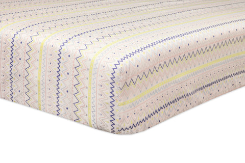 Desert Dreams Fitted Crib Sheet