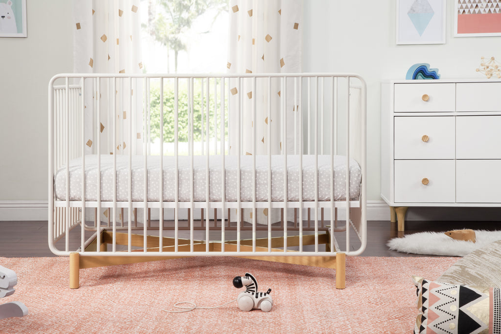 Babyletto Bixby 3-in-1 Convertible Metal Crib with Toddler Bed ...