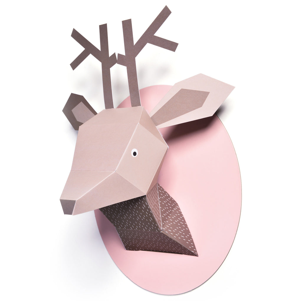 T18018,Menagerie Zoe The Deer Paper Bust