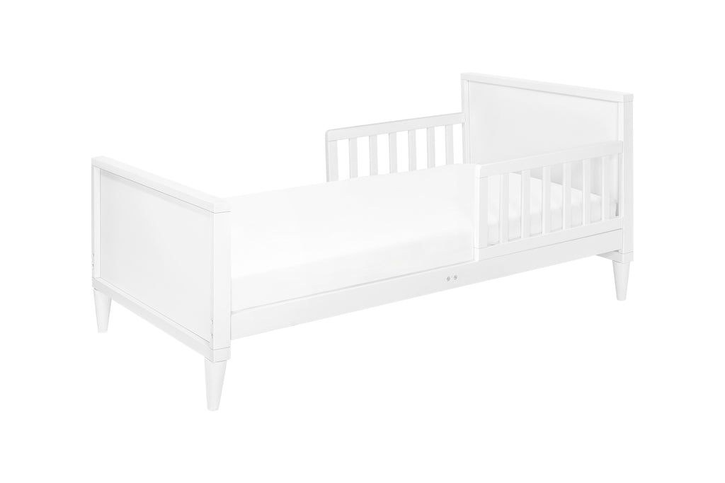 M16890W,Ziggy Toddler Bed in White