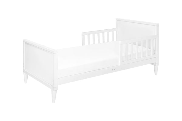 babyletto mid century modern ziggy toddler bed White