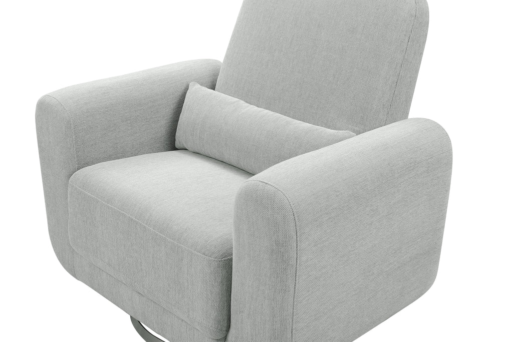 M10287GV,Tuba Glider In Winter Grey Weave Finish