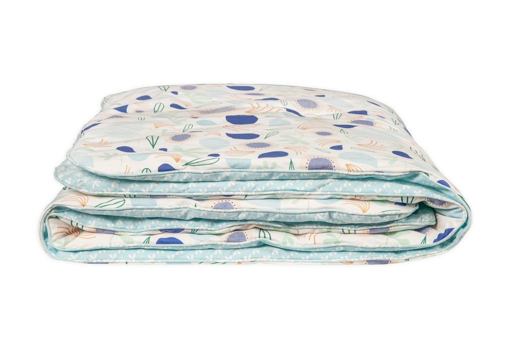 T11052,Fleeting Flora 2-in-1 Play and Toddler Blanket