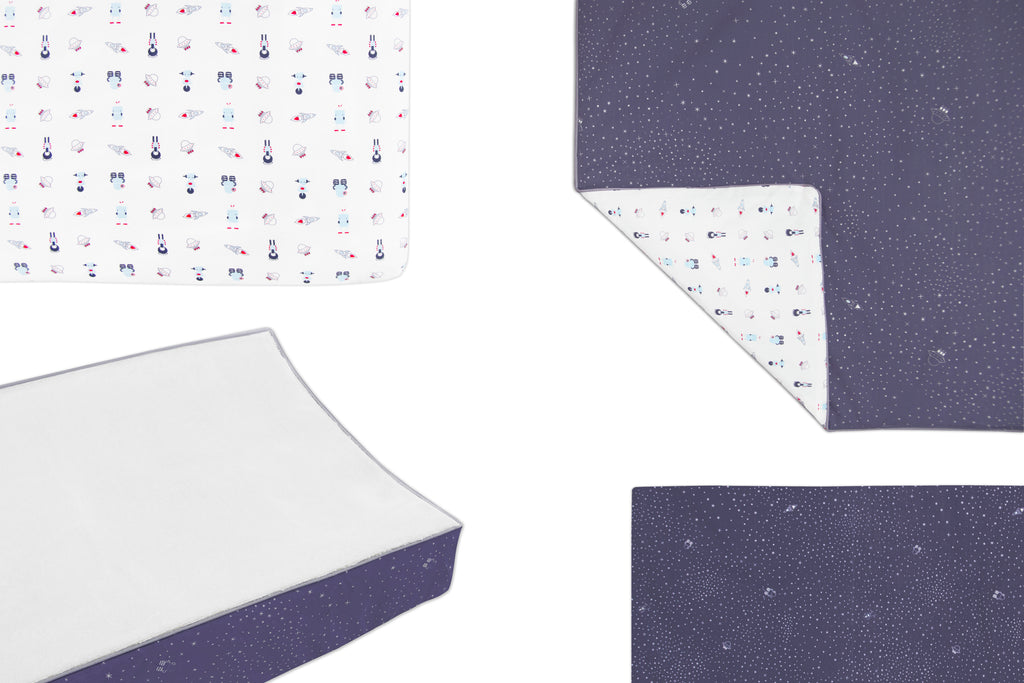 T8053,Galaxy Contour Changing Pad Cover