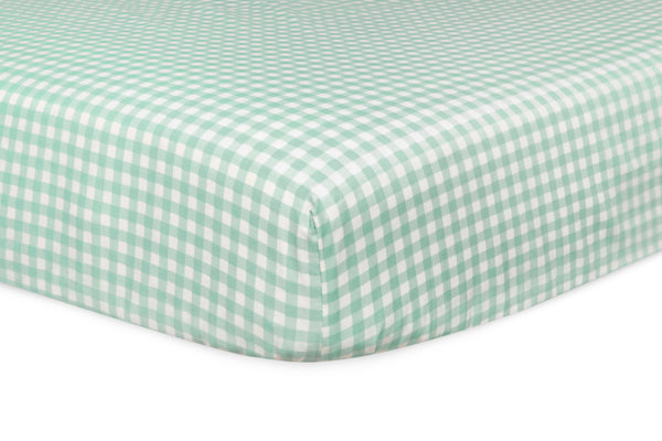 T11030,Tulip Garden Fitted Crib Sheet