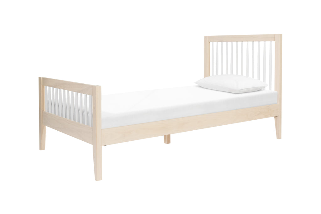 M10389NXW,Sprout Twin Bed in Washed Natural / White