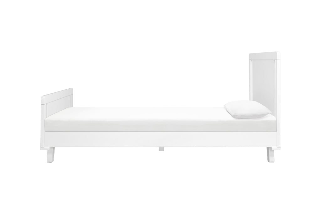 M4289W,Hudson Twin Bed in White