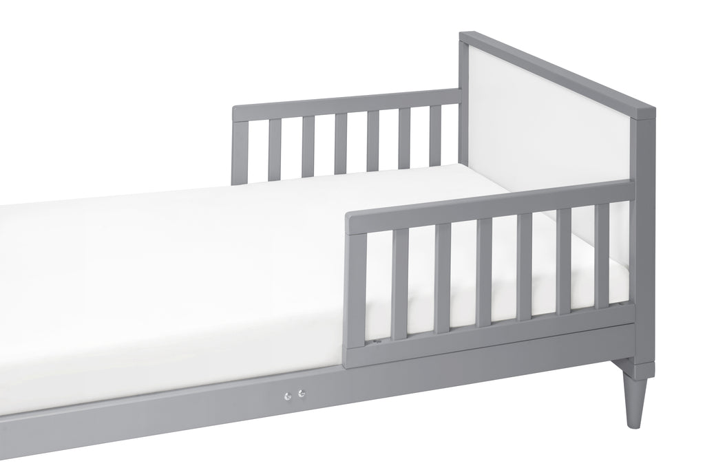 M16890GW,Ziggy Toddler Bed in Grey / White