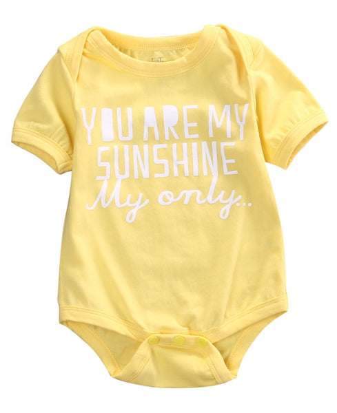 'YOU'RE MY SUNSHINE' BABY ROMPER