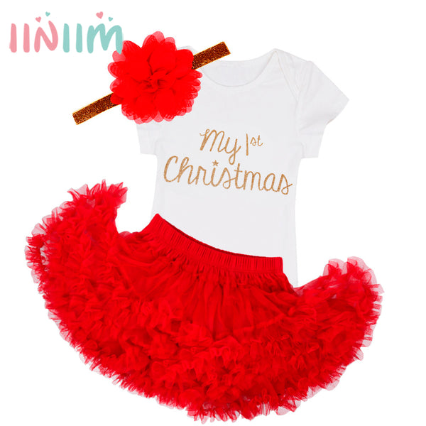 My first Christmas Baby 3PC set