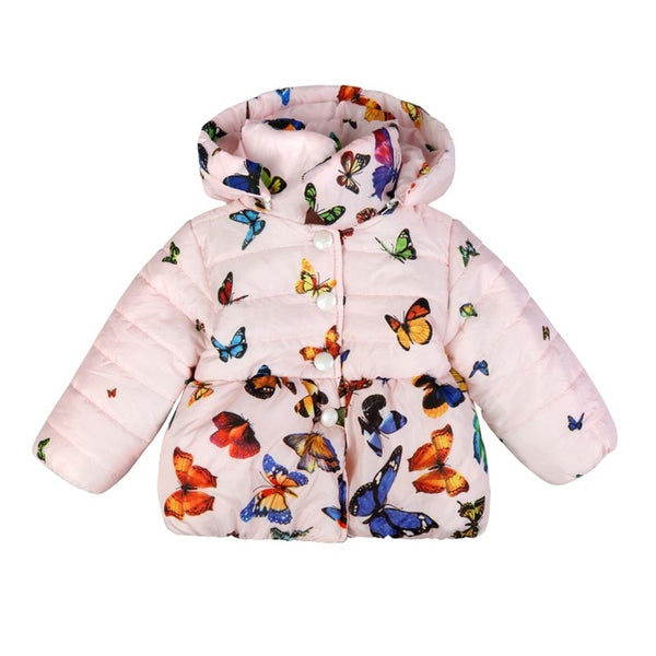 60e0963aeee51 BUTTERFLY PRINT BABY GIRL PARKA – Modern Motherly