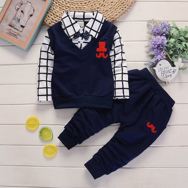 MODERN BABY RICH MAN STYLE SUIT