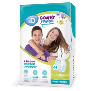 iD Comfy Junior Pants 8-15 Years (24-47kg) - ConfidenceClub