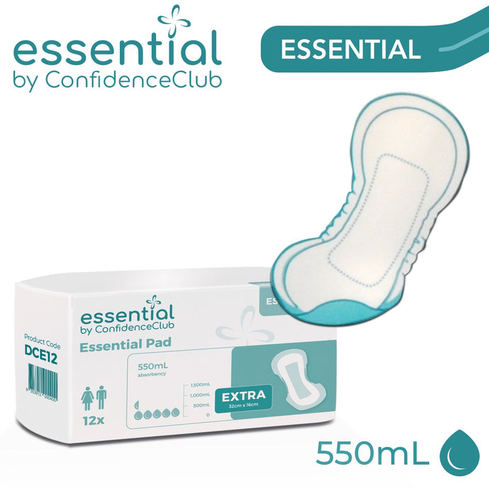 Bladder Weakness Pad - Large/Extra - 32cm x 16cm - ConfidenceClub