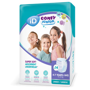 iD Comfy Junior Pants 4-7 Years (17-27KG) - ConfidenceClub