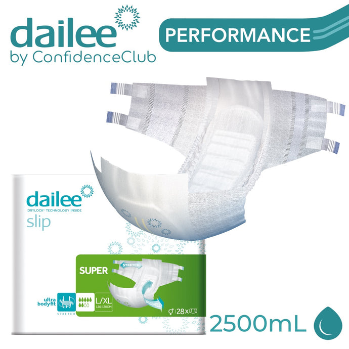 Dailee Slip Super - L/XL (120 - 170cm) - ConfidenceClub