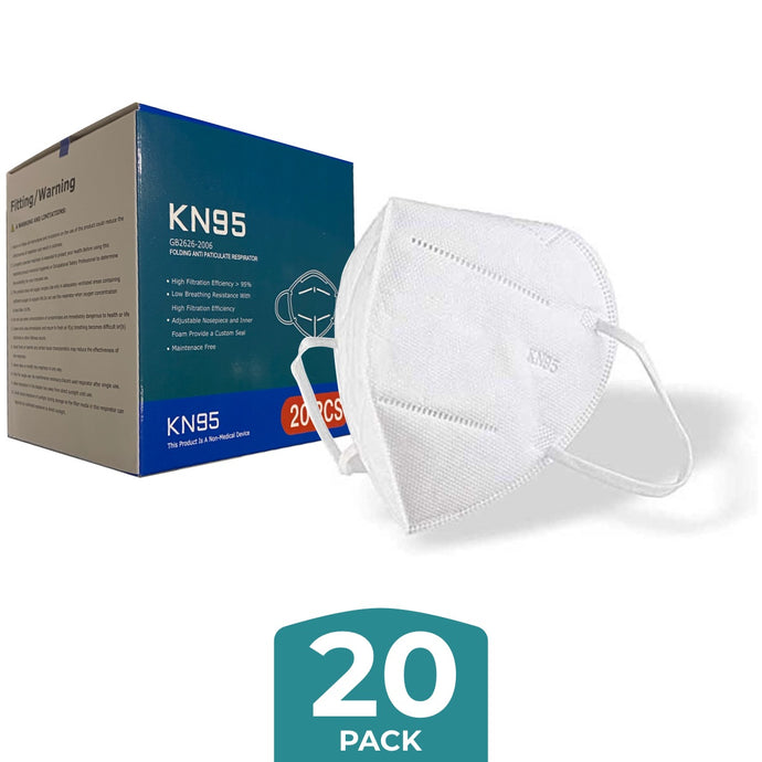 KN95 Masks - Pack of 20 - ConfidenceClub