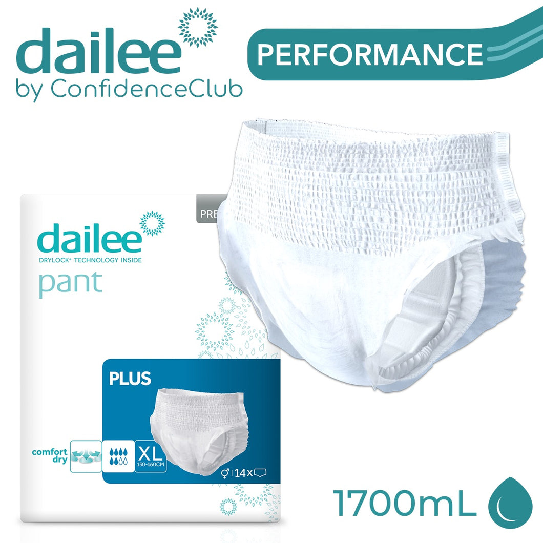 Dailee Pants Plus - EXTRA-LARGE (130 - 160cm) - ConfidenceClub