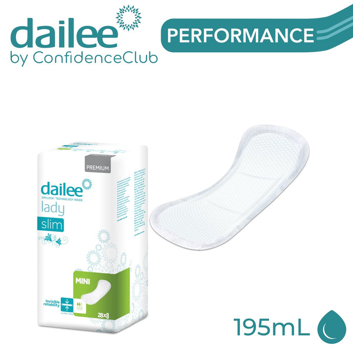 Dailee Lady Premium Slim Mini - ConfidenceClub