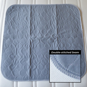 Premium Washable Waterproof Absorbent Chair Pad 60x60cm - Twin-Pack