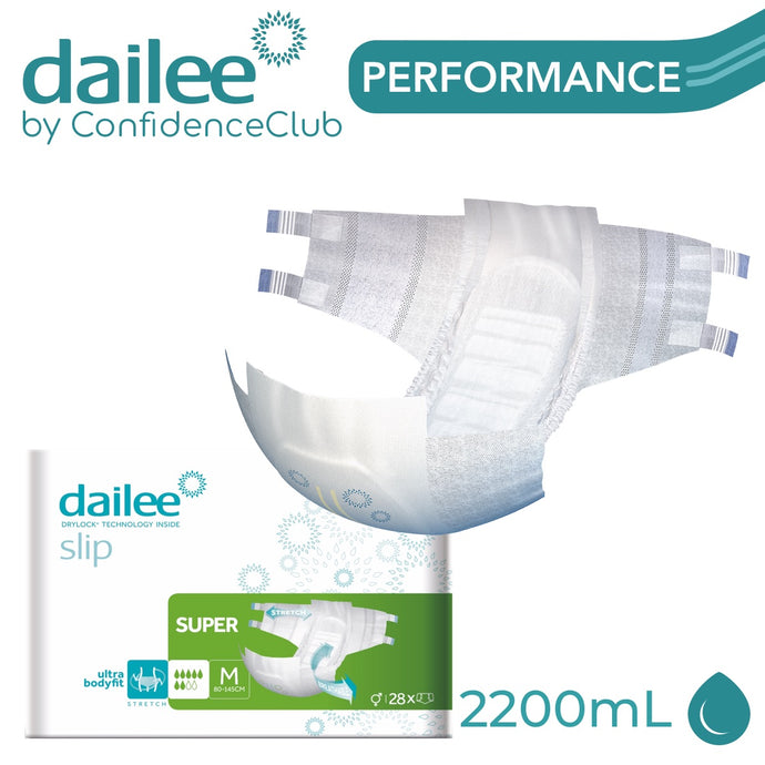 Dailee Slip Super - MEDIUM (80 - 145cm) - ConfidenceClub
