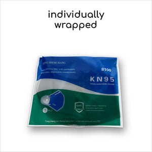 15 x KN95 Masks With Breathing Valve - Individually Packed - ConfidenceClub