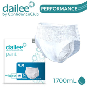 Dailee Pants Plus - MEDIUM (80 - 120cm) - ConfidenceClub