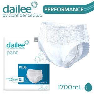 Dailee Pants Plus - LARGE (110 - 140cm) - ConfidenceClub