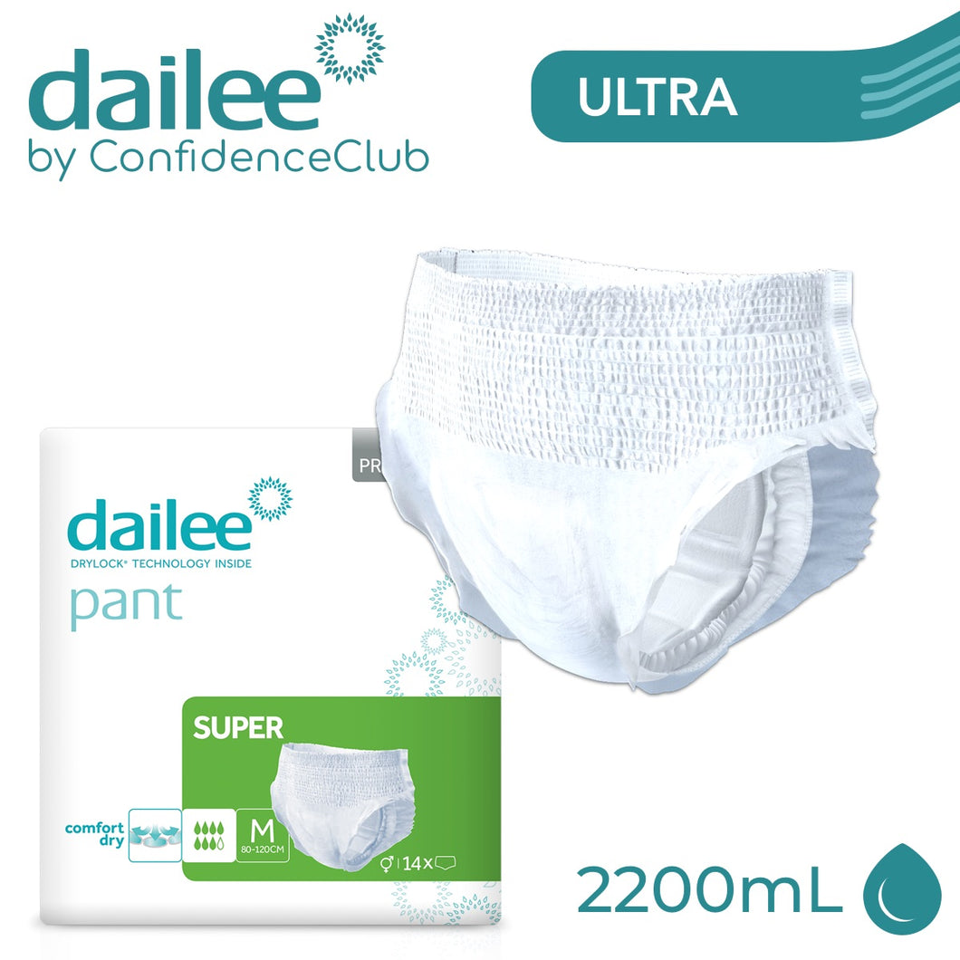 Dailee Pants Super - MEDIUM (80 - 120cm) - ConfidenceClub