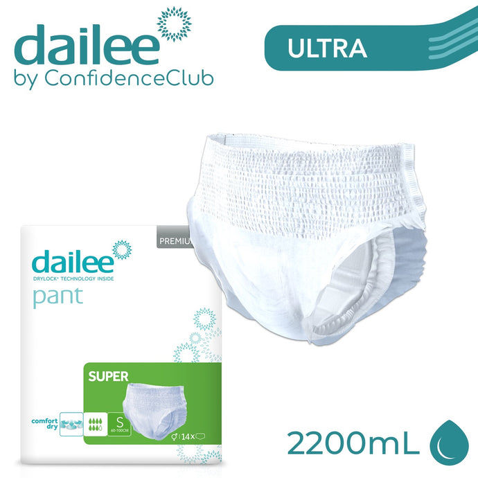 Dailee Pants Super - SMALL (60 - 100cm) - ConfidenceClub