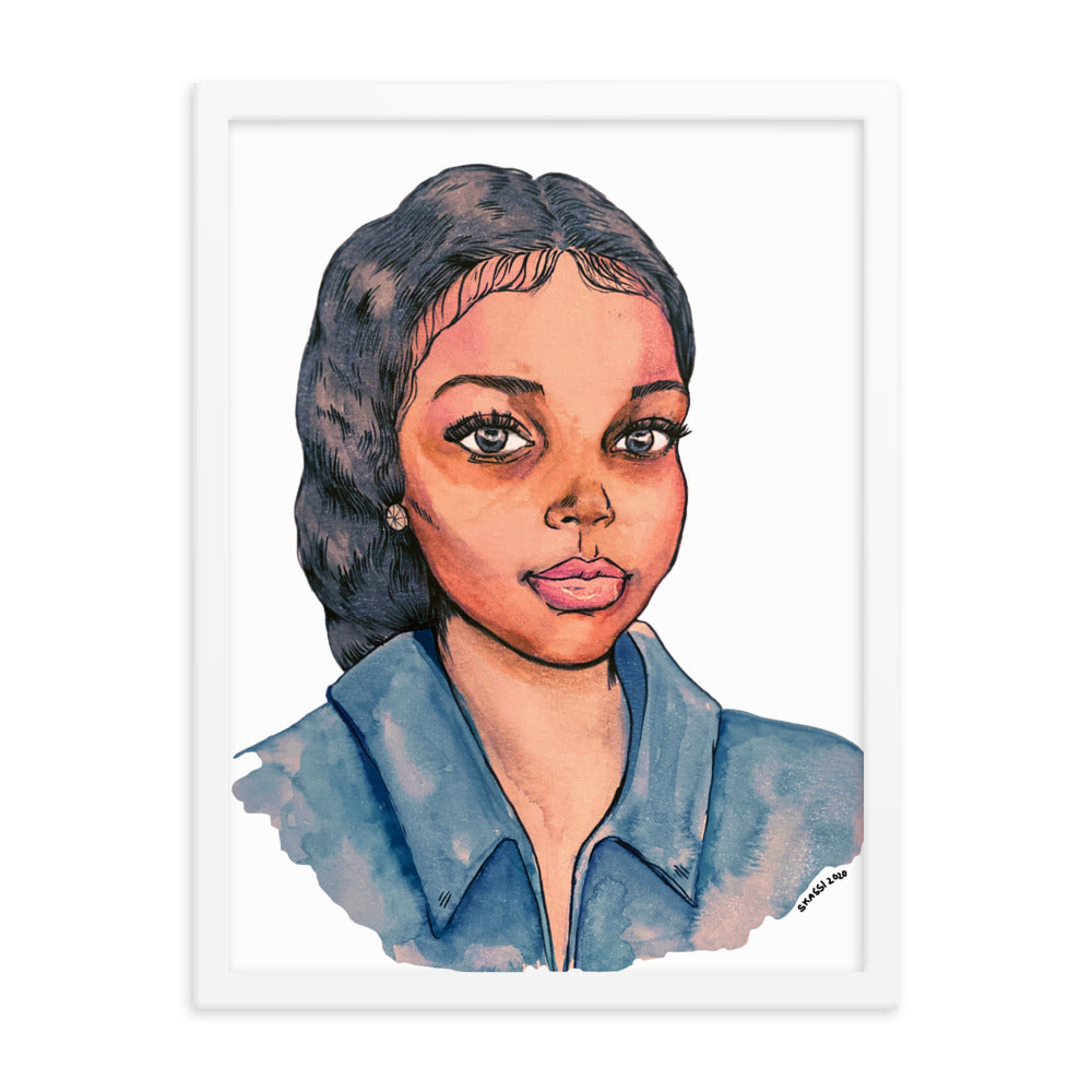 Abducted Breonna Taylor Framed Art Print Abducted