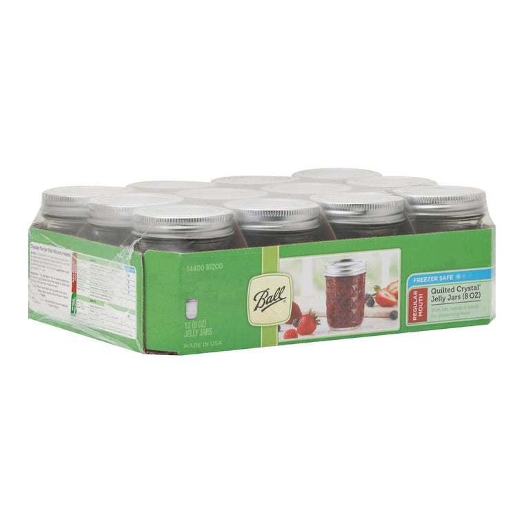 Ball Canning Jelly Jar - Case Of 1 - 12 Count