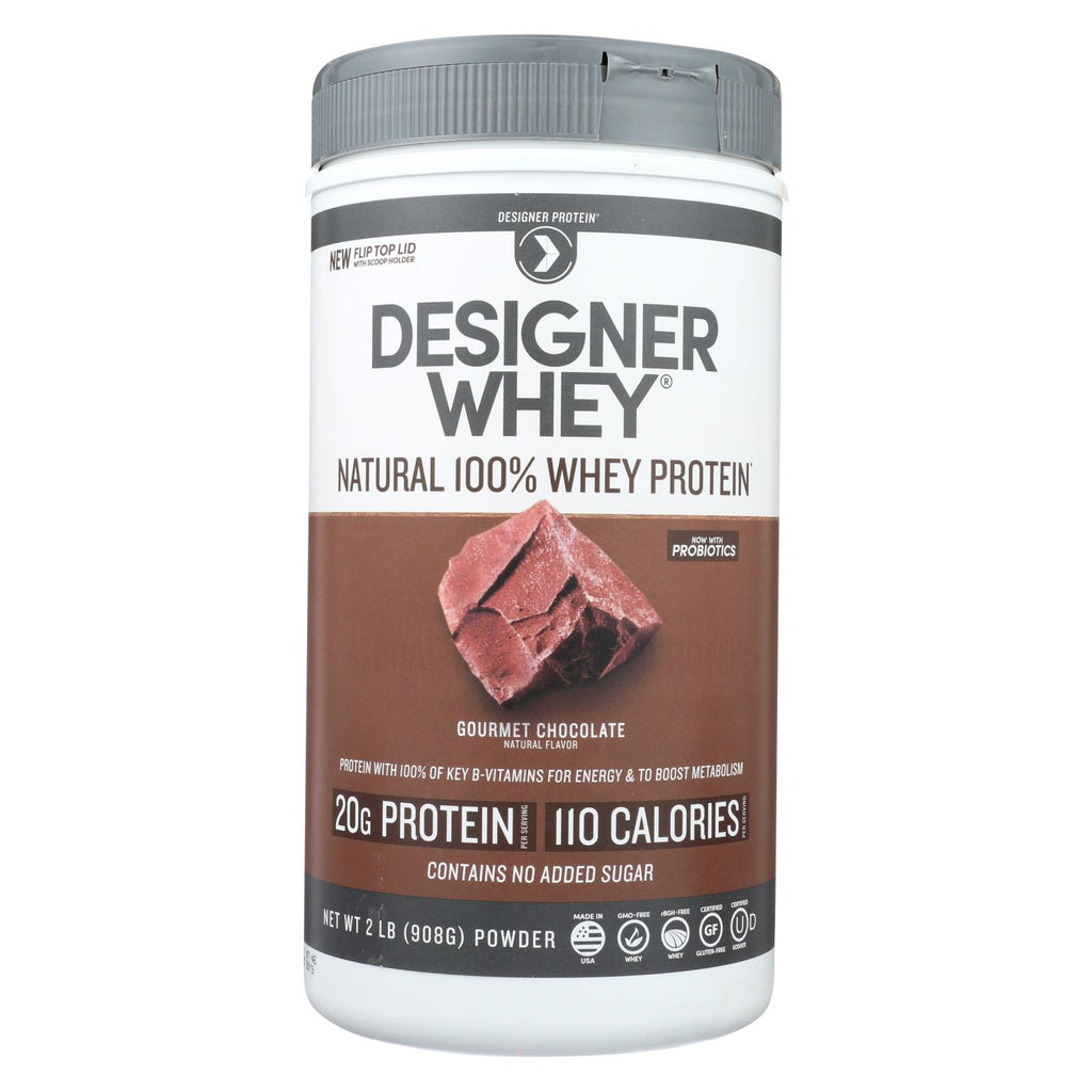 Designer Whey Protein Powder Chocolate - 2 Lbs