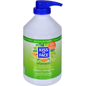 Load image into Gallery viewer, Kiss My Face Whenever Shampoo Green Tea And Lime - 32 Fl Oz