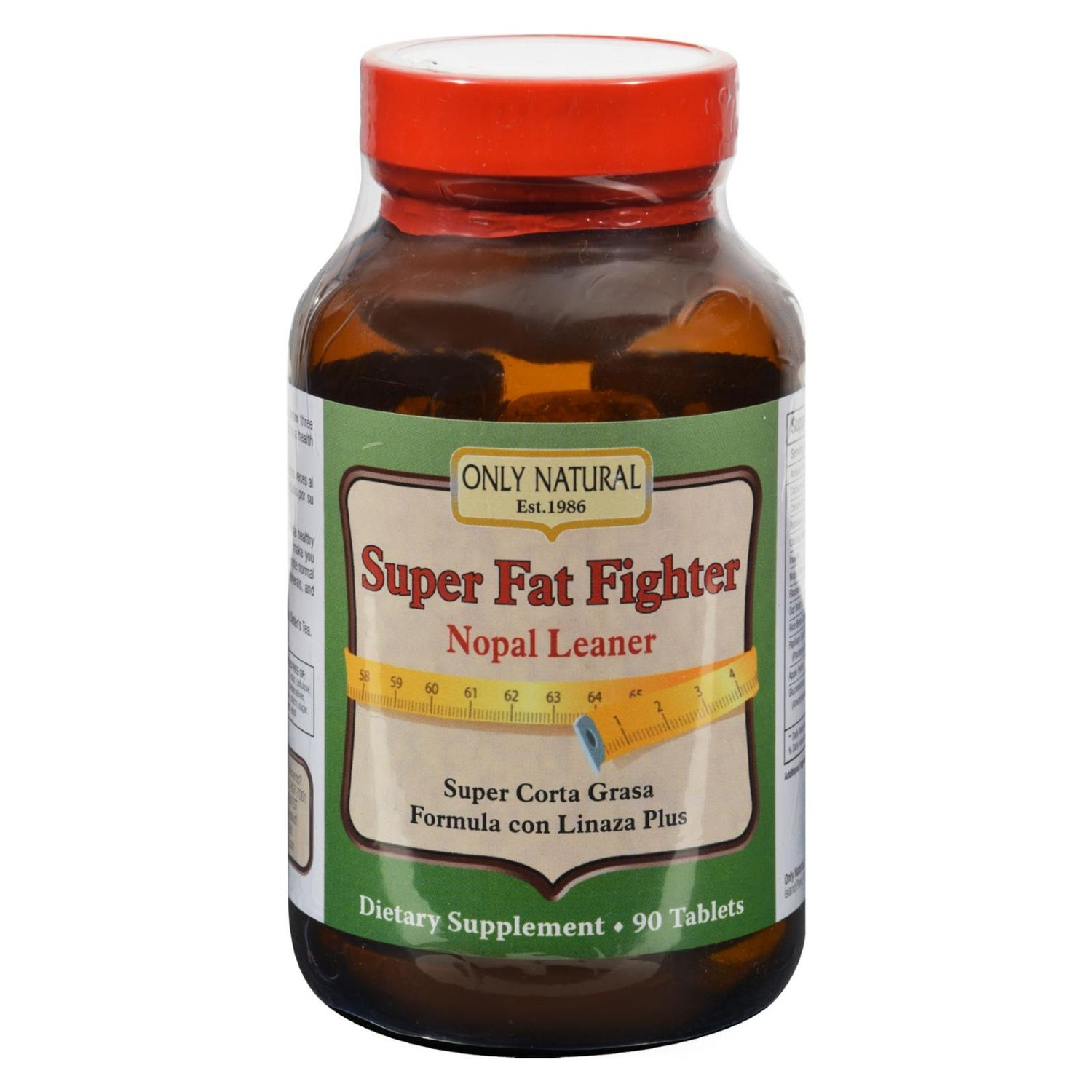 Only Natural Super Fat Fighter - 90 Tablets