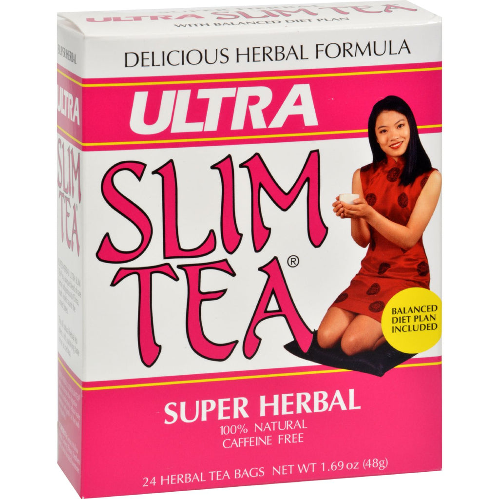 Hobe Labs Ultra Slim Tea Super Herbal - 24 Tea Bags