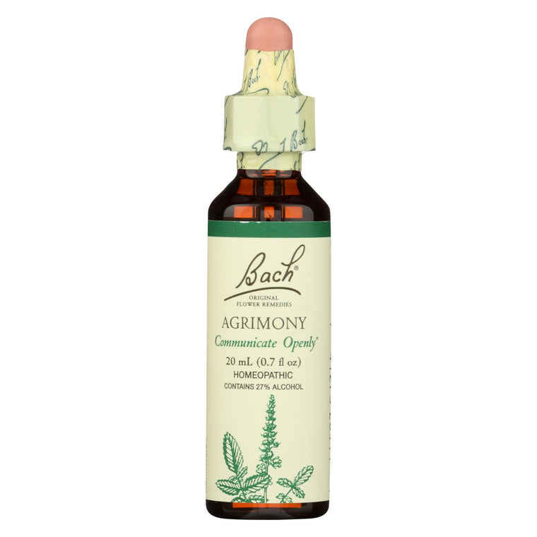Bach Flower Remedies Essence Agrimony - 0.7 Fl Oz