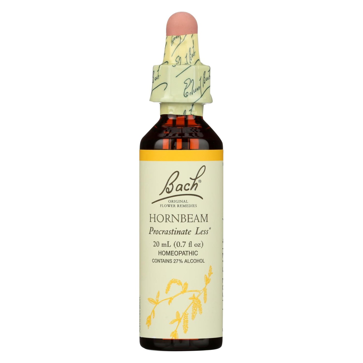 Bach Flower Remedies Essences Hornbeam - 0.7 Fl Oz
