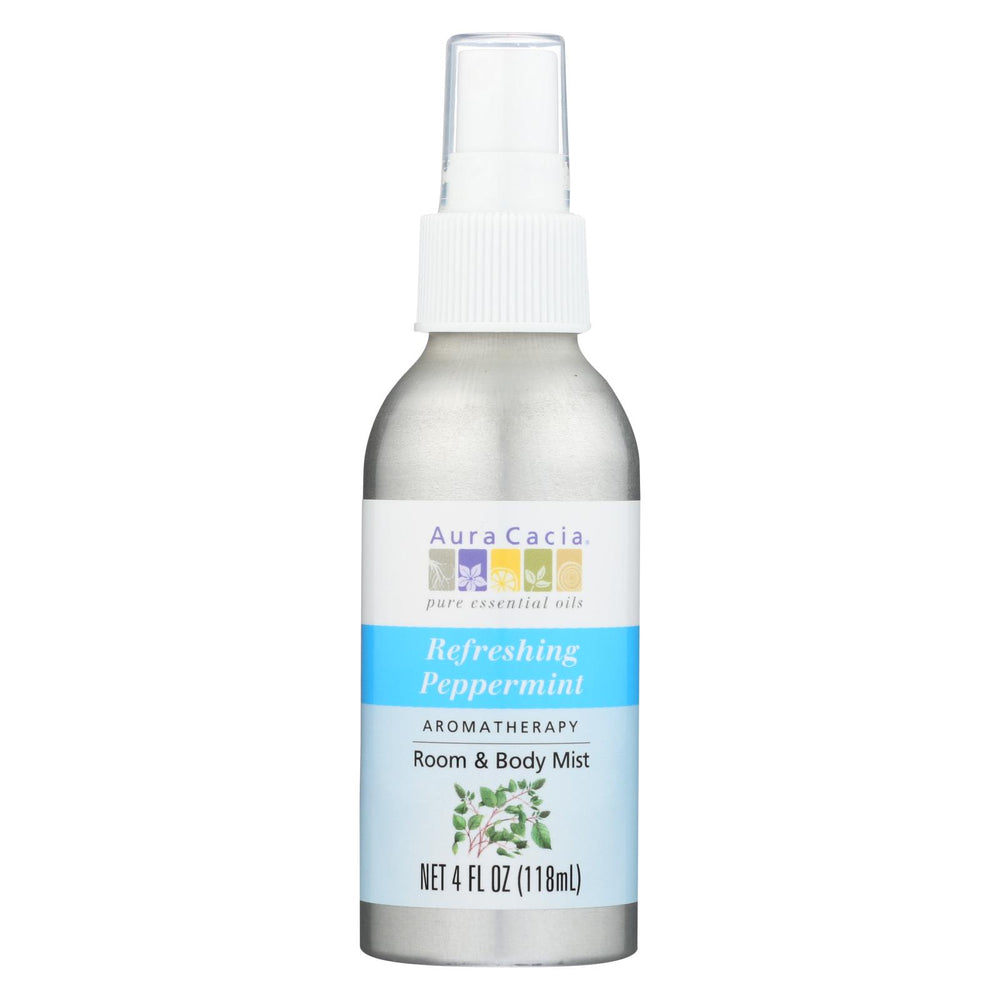 Load image into Gallery viewer, Aura Cacia Aromatherapy Mist Peppermint Harvest - 4 Fl Oz